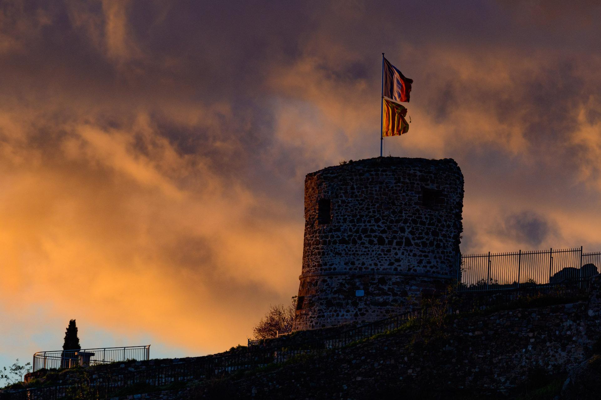 Le château de La Garde dans le Var