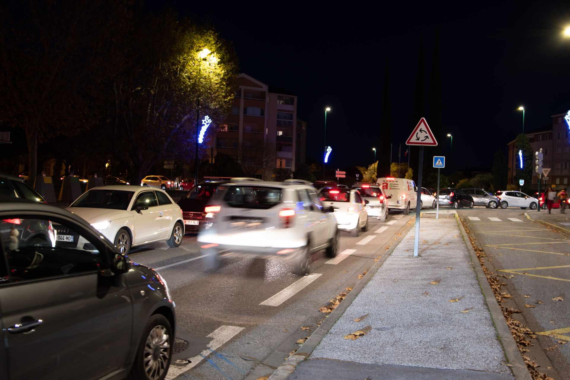 La circulation à TPM, 2à ans de retards et aucune autre alternative à la voiture.